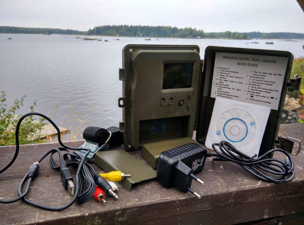 Diel HT-002LIM GSM Viltkamera och alla tillbehör.