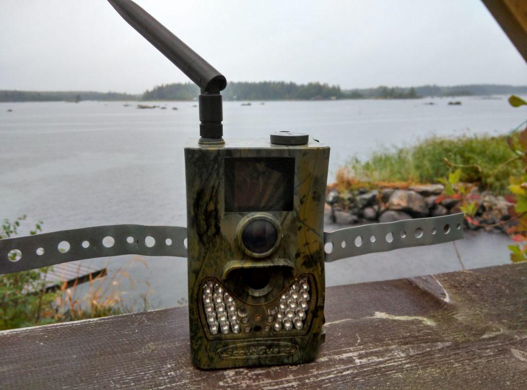 SG550M-8M med hålband för fast montage