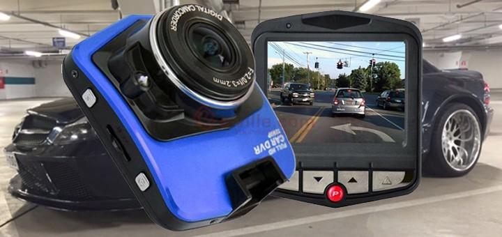 Vesa K. testaa Diel Blackbox HD -liikennekameran
