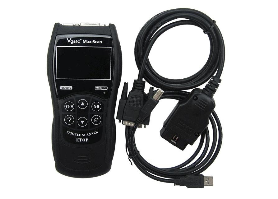 Lue miten poistat vikakoodit Vgate MaxiScan VS809 OBD-lukijalla