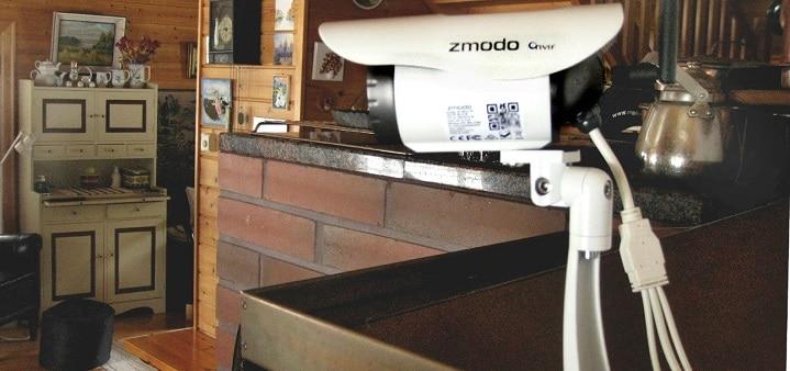 Langaton HD-valvontakamera varjelee kotia ja kesämökkiä