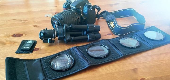 Lähilinssisarja ja Nikon IR kauko-ohjain valokuvausharrastajan testissä