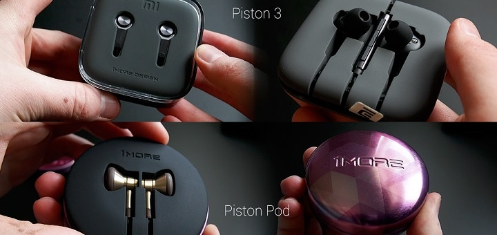 Nappikuulokkeet tuotevertailussa – Xiaomi Piston 3 vs 1MORE Piston Pod