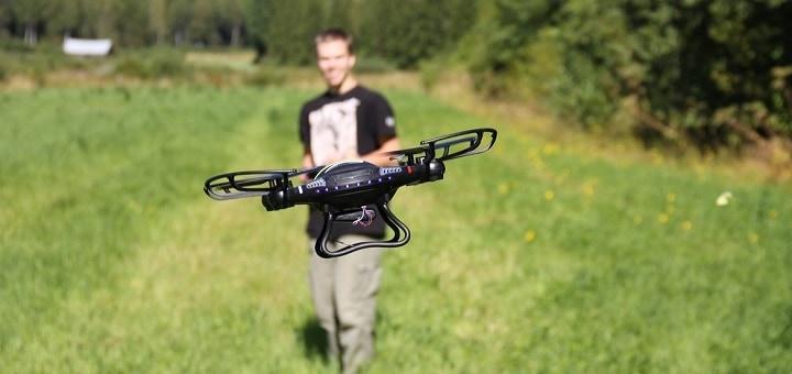 Testissä edullinen kuvauskopteri