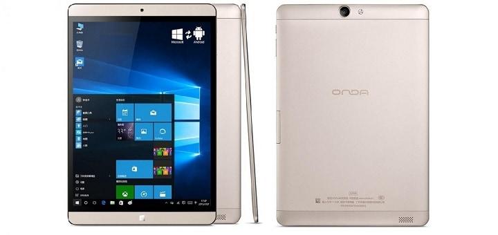 Testissä Onda V919 Air Gold tablet – Kaksi laitetta samassa paketissa