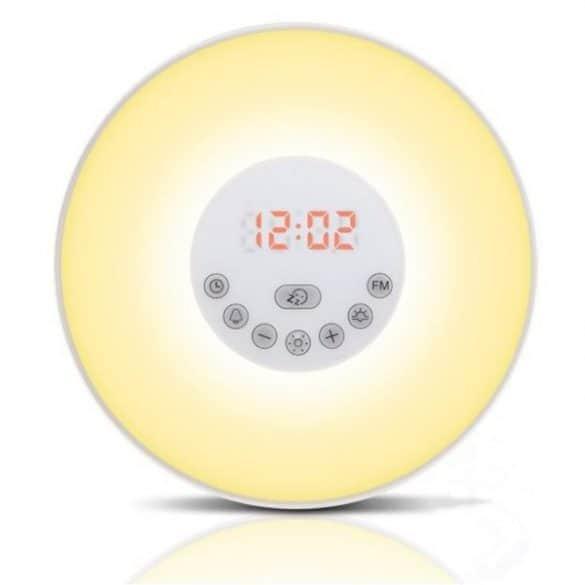 Heräämisvalo on tyylikäs sisustuselementti, joka herättää sinut luonnollisesti.