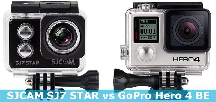 GoPro Hero 4 Black vs SJCAM SJ7 STAR -vertailu. Haastaako puolet halvempi kamera GoPron?