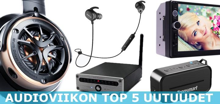 Audioviikon TOP 5 uutuudet esittelyssä – Musiikkilaitteita jokaiseen lähtöön