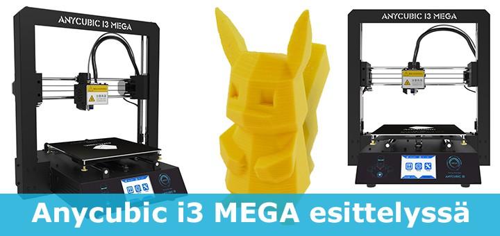 Anycubic I3 MEGA 3D-tulostin