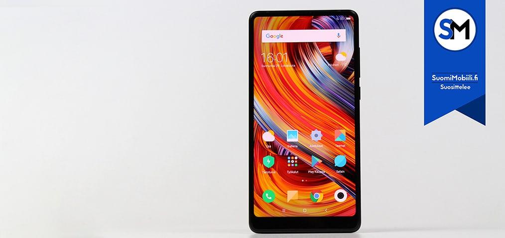 Xiaomi Mi MIX 2 -puhelin Suomimobiilin testissä