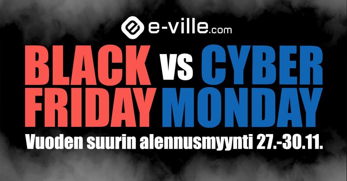 Mikä on Black Friday ja mitä e-villellä on sinulle tarjolla?