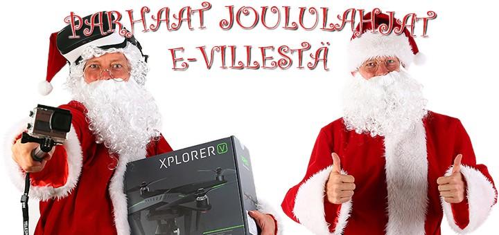 Parhaat joululahjat e-villestä