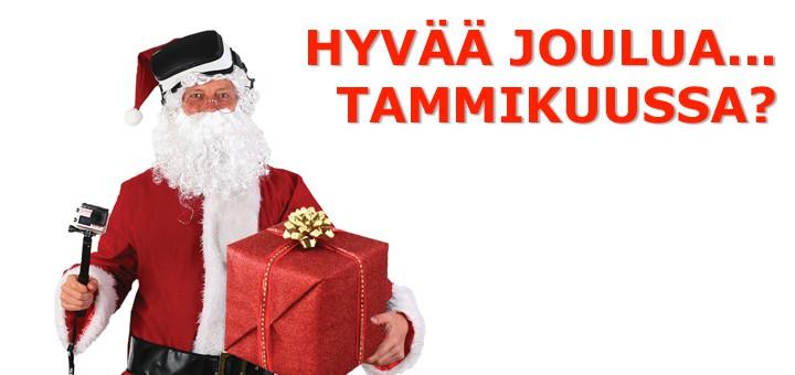 Joulukortit tammikuussa… täh!?