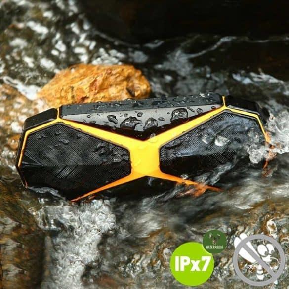Kaitun on IPX7-sertifioitu ja vesitiivis