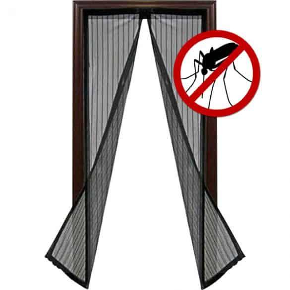 Hyttysovi toimii magneettikiinnityksellä