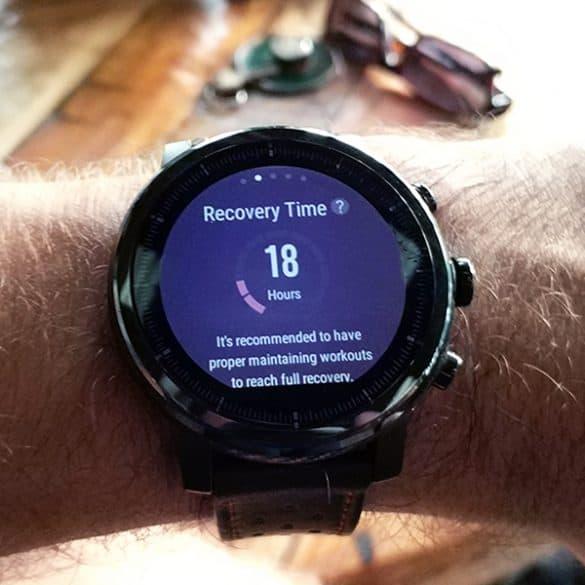 Kello antaa treenin jälkeen vinkin palautumisaikaan