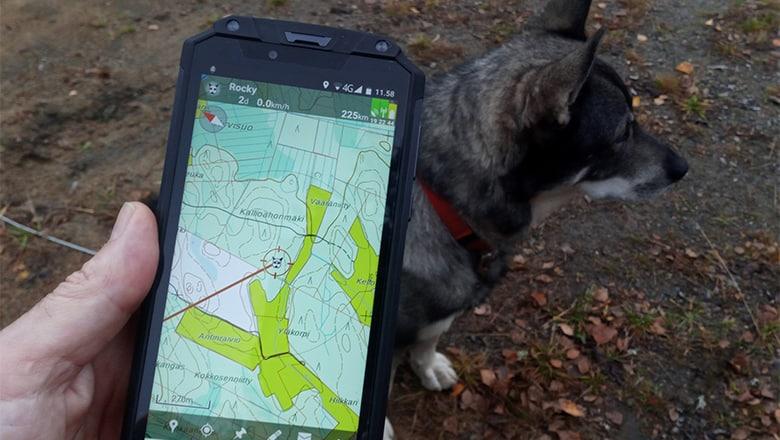 Oukitel WP2 – teholuuri koirapaikannukseen