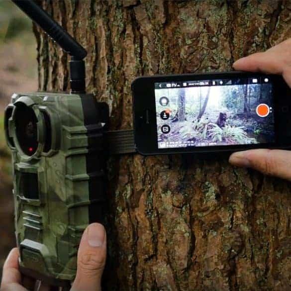 Ja katso WiFin kautta mitä kamera näyttää