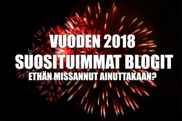 e-ville.com 2018 suosituimmat blogit