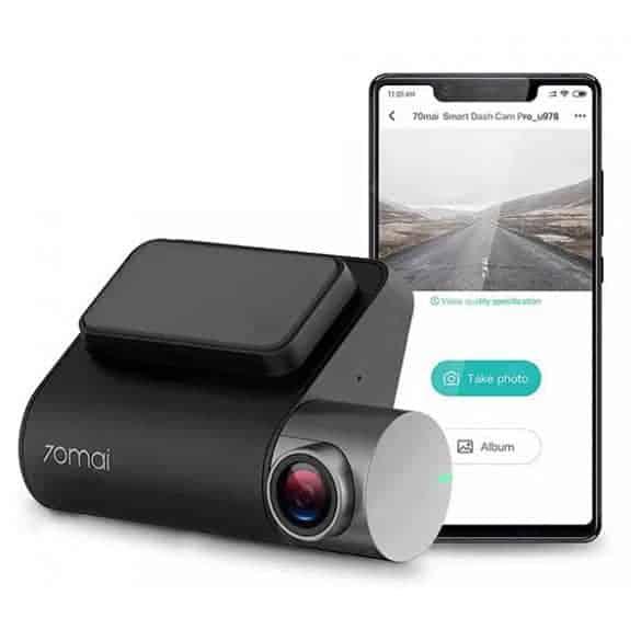Xiaomin älykäs autokamera - 70mai Pro