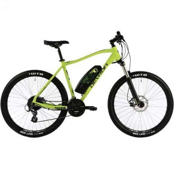 Devron sähkömaastopyörä - Riddle E1.7