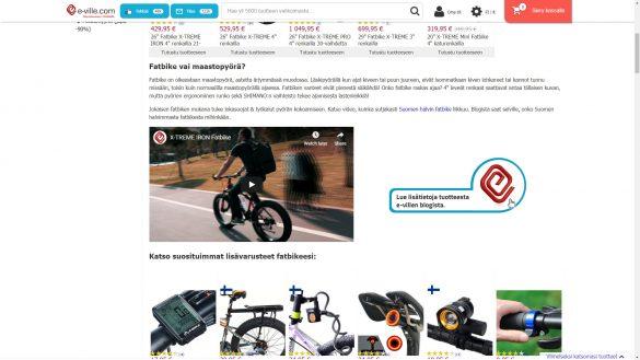 Fatbiket ja polkupyörät