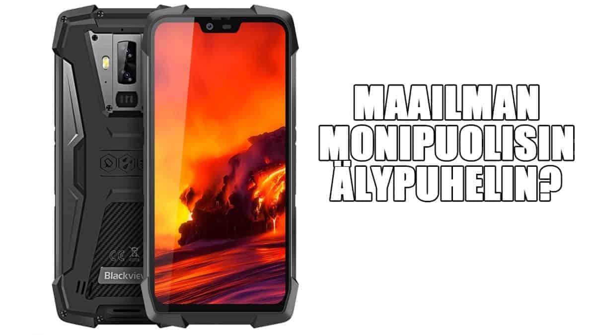 Maailman monipuolisin älypuhelin? – Veden- ja iskunkestävä Blackview BV9700 Pro