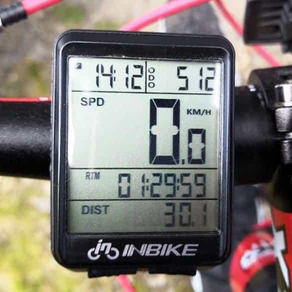 Päivän saldona 30.1km - Ei paha...