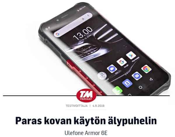 Paras kovan käytön älypuhelin. Lue koko artikkeli Tekniikan Maailmasta.