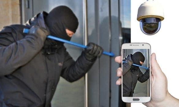 Valvontakamera antaa turvaa kodillesi ja omaisuudellesi.