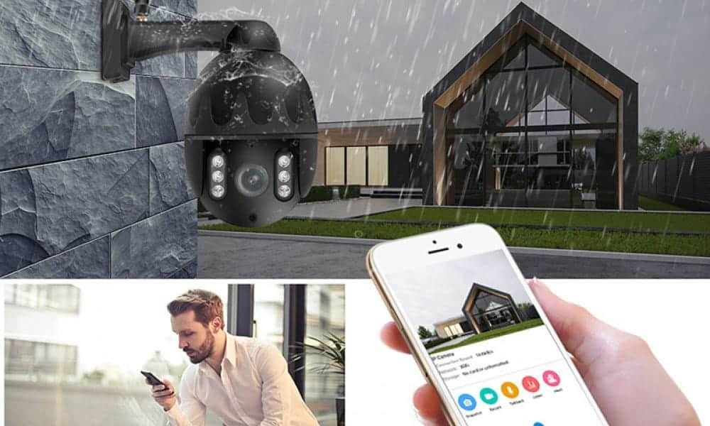 Valvontakamera karkoittaa pitkäkyntiset kotipihaltasi