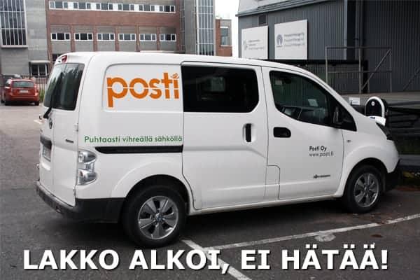 Postin lakko ohi – Miten lakko vaikuttaa toimitusaikoihin? (Päivitetty 27.11.)