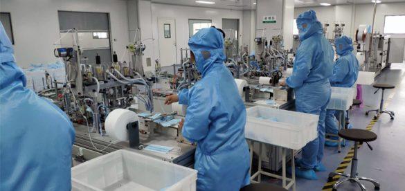Suojavarusteiden hankinta Kiinasta