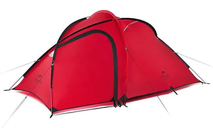Ultrakevyt 3 hengen teltta ja vinkkejä telttailuun