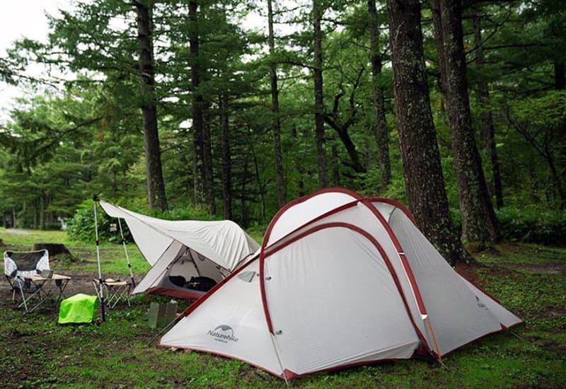 Näyttävä teltta