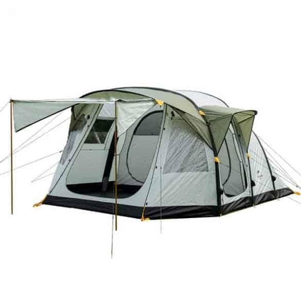 4-6 hengen täytettävä teltta