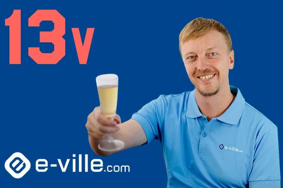 e-ville.com – 13 vuotta Varmemmin Villeltä