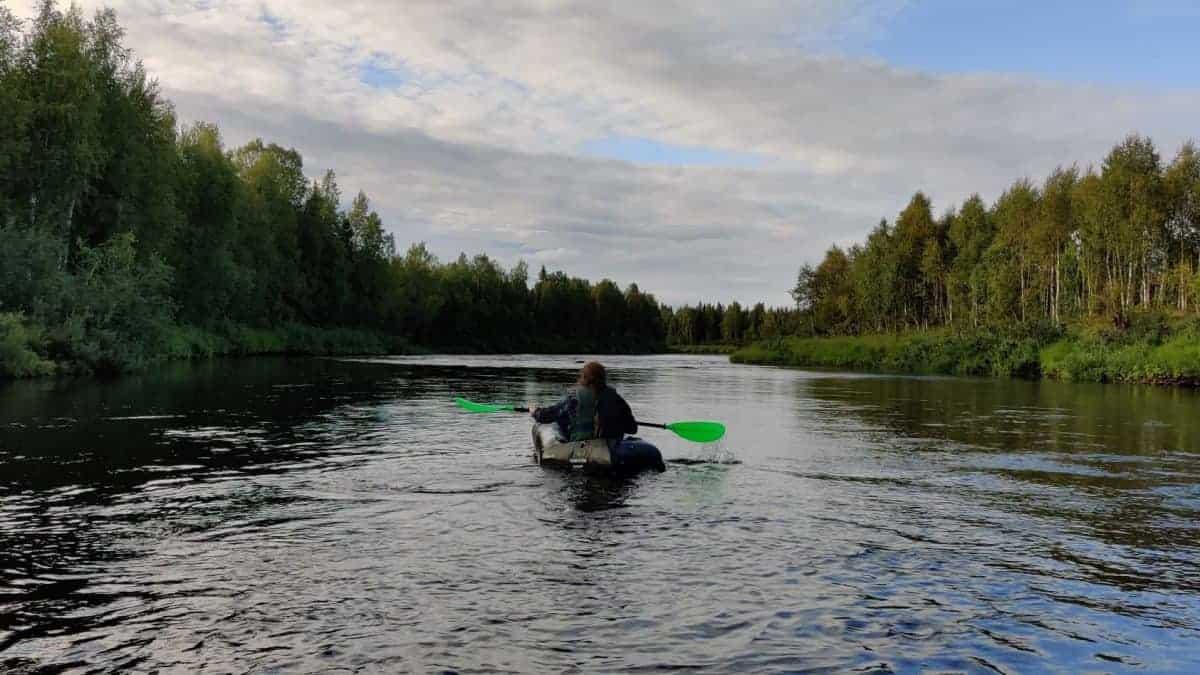 Samooja reppulautta testissä – Kolmen veljeksen kanoottivaellus itä-Lapissa