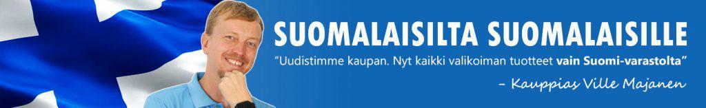 Nyt pelkästään Suomi-varastolta