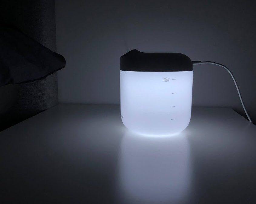 Baseus ilmankostutin/aromadiffuusori yövalolla – Lue asiakkaan arvostelu