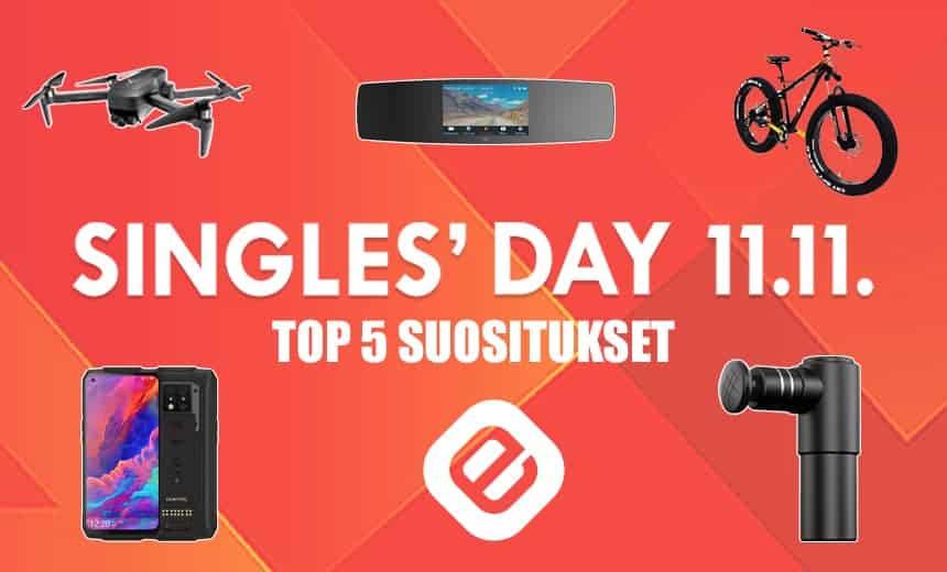 Singles' Day 11.11. – e-villen TOP 5 suositukset